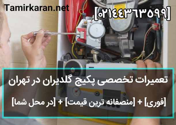 خدمات تعمیرات پکیج گلدیران در تهران بزرگ