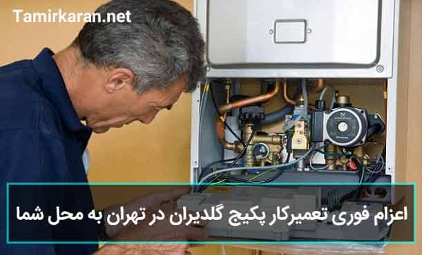 اعزام تعمیرکار پکیج گلدیران به کلیه مناطق تهران